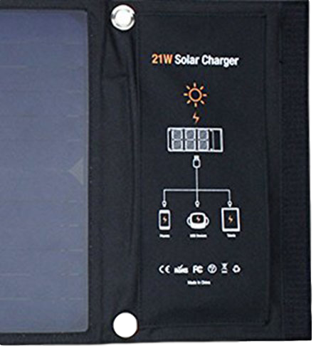 Solar Powered Mobile Charger Info